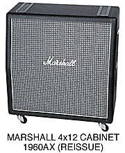 Marshall 1960AX Cabinet