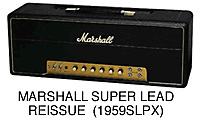 Marshall 1959SLPX Vintage Series 100W Tube Head
